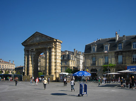 Platz des Sieges in Bordeaux Foto